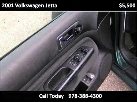2001 Volkswagen Jetta Used Cars Amesbury MA