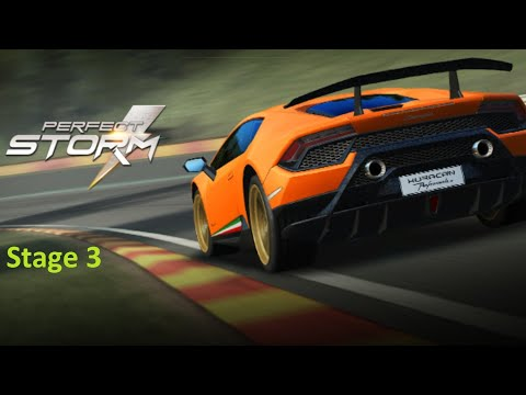 Real Racing 3 RR3 -The Perfect Storm - Stage 3 ( No Upgrades )