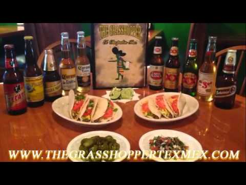 Authentic Mexican Cuisine At The Grasshopper Mexican Restaurant And Bar