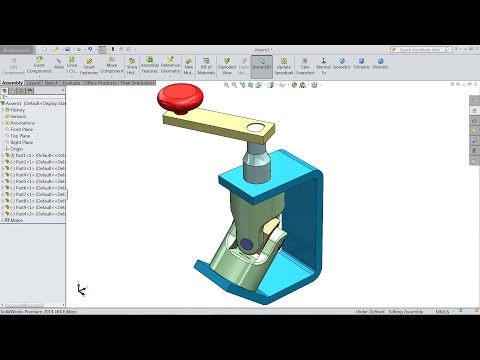 SolidWorks Tutorial | Design And Assembly Of Universal Joint In SolidWorks | SolidWorks