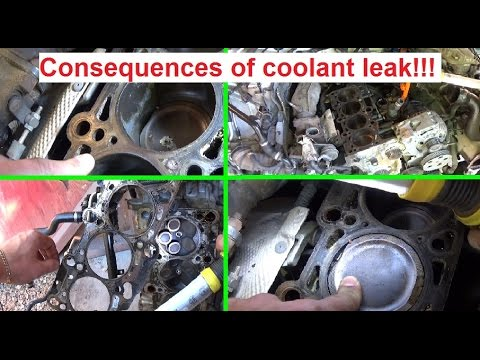 Why it is important to fix a coolant leak. The Consequences !!!