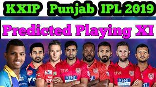 kings 11 punjab team 2019
