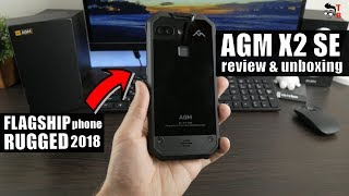 AGM X2 SE - Is It the Best Rugged Phone in 2018? REVIEW & Unboxing