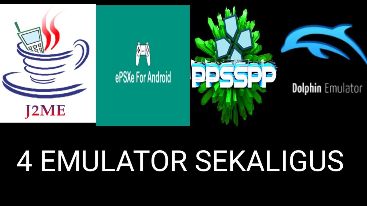 Main Game Jadul menggunakan Emulator Untuk Android - J2ME, EPSXE, PPSSPP,  DOLPHIN