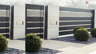 Modern Compound Wall Design | Boundary Wall Design | Home Exterior Wall | Fence Wall Design