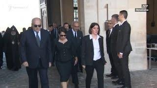 Նախագահն ու վարչապետը մասնակցում են Շառլ Ազնավուրի վերջին հրաժեշտի արարողությունը