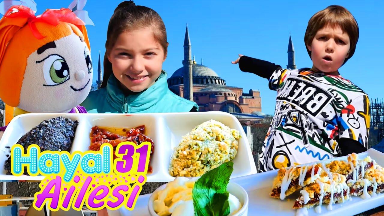 HayalAilesi İstanbul'un şehir mekezini geziyor
