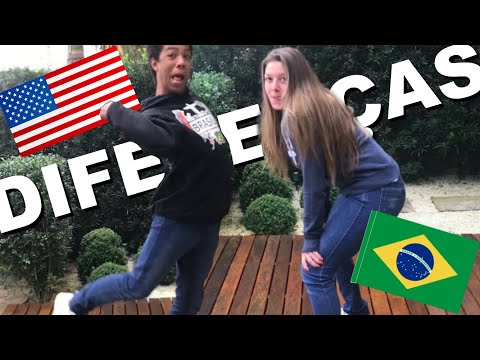 DIFFERENCES BETWEEN AMERICANS & BRAZILIANS!