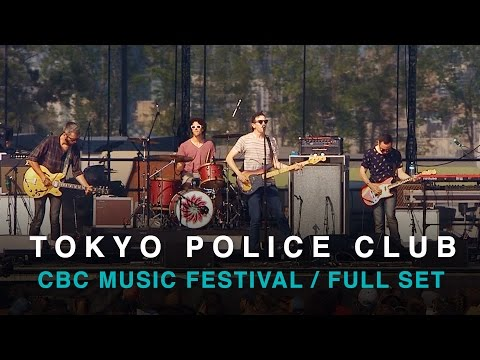 Tokyo Police Club | CBC Music Festival 2016 | Full Concert