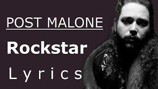 Rockstar (Lyrics / Lyric Video) - Post Malone feat. 21 Savage