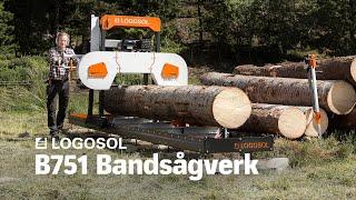 B751 Bandsågverk