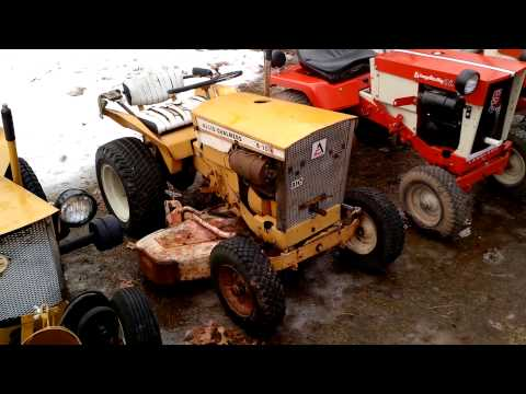 simplicity and allis chalmers lawn and garden trac