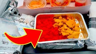 10 Secrets About Airline Food You Never Realized