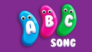 Learn ABC's with Alphabet Jelly Beans Song | ABC Songs for Children