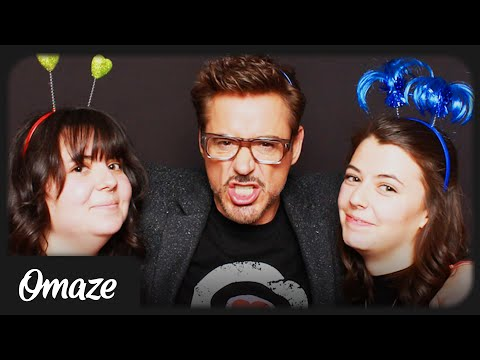 These Omaze Winners Had a Photo Shoot with Robert Downey Jr! // Omaze