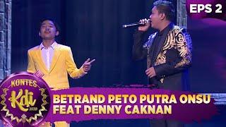 BEST! Betrand Peto Putra Onsu feat Denny Caknan [KARTONYONO MEDOT JANJI] - Kontes KDI 2020 (10/8)