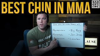 Who Has The Best Chin In MMA History?