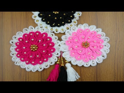 Beautiful Wall Hanging Idea Easy Home Decor Idea Flower Wall