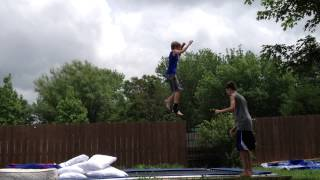 My First Double Backflip Attempt