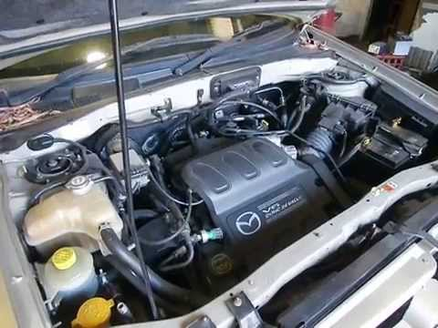 wrecking 2005 mazda tribute engine 3 0 j14611 youtube. Black Bedroom Furniture Sets. Home Design Ideas