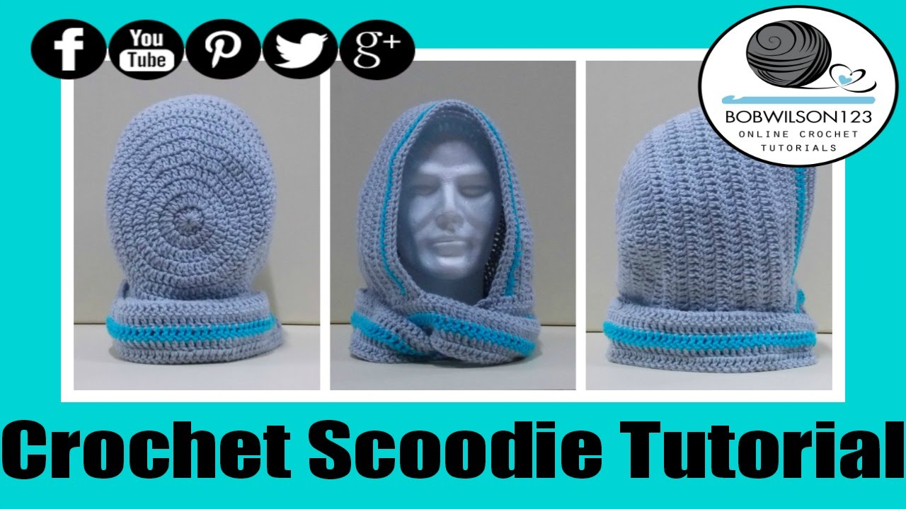 Crochet scoodie rounded hood with written pattern youtube dt1010fo