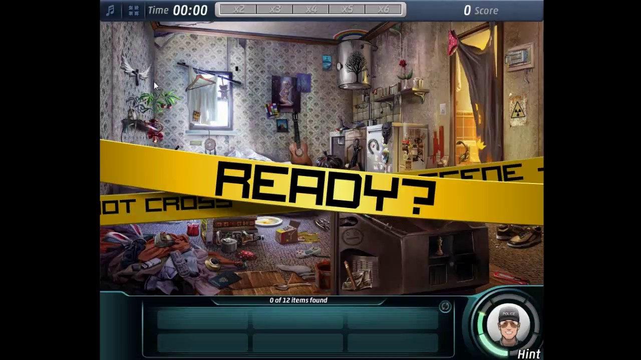 Criminal Case 4 Living Room TOP Score HD