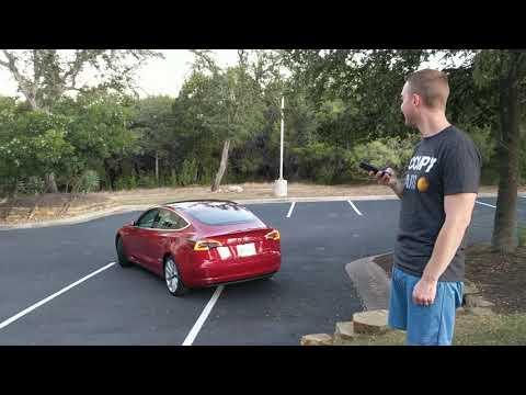 Tesla Smart Summon V10 Fun