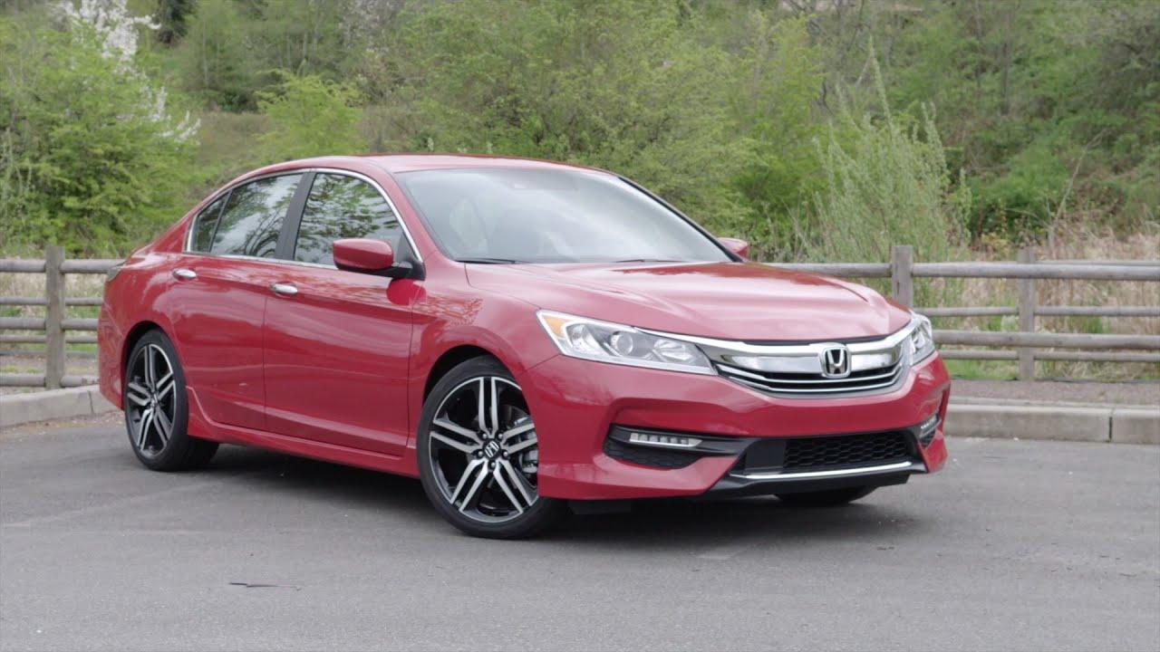 2016 Honda Accord Sport Sensing Review Autonation Youtube