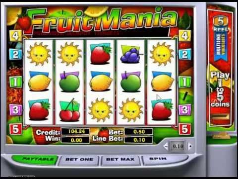 Игровой автомат Fruit Mania от Playtech
