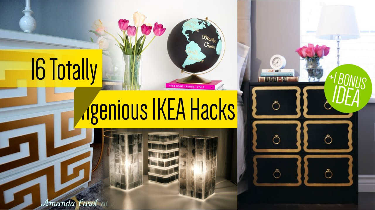 16 Ikea Furniture Makeover Youtube