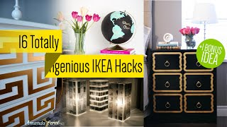 16 Ikea Furniture Makeover