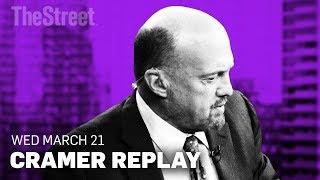 Jim Cramer on FedEx, Salesforce, Mulesoft, Facebook and Twitter