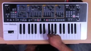 Roland Gaia SH-01 - Synth Basics Strings
