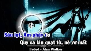 [ Karaoke ] Faded (Phết-đựt) || Phiên âm Việt sub 100%