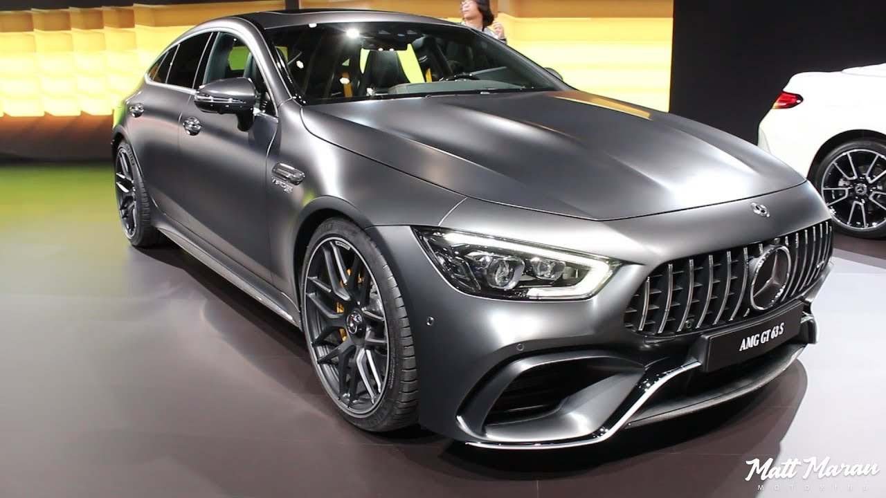 2019 Mercedes-AMG GT 63S 4-Door Coupe Close-Up Look! - YouTube