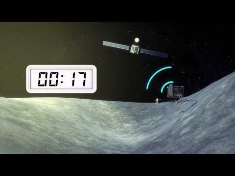 Philae comet lander wakes up after seven months