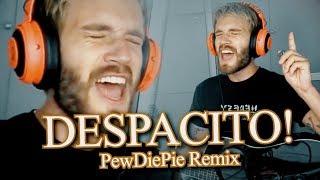 PewDiePie Sings DESPACITO! (Remix by Endigo)