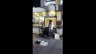 渋谷 electro-jazz live shibuya crossing tokyo japan