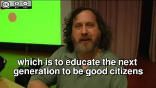 Exceptional  Richard Stallman's speeches :the meaning of free software and open source software.