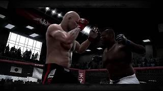 EA MMA бои PS3