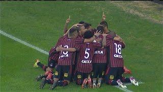 Gol de Ewandro, Atlético PR 3 x 0 Goias 30/08/2015, Brasileiro Série A 2015