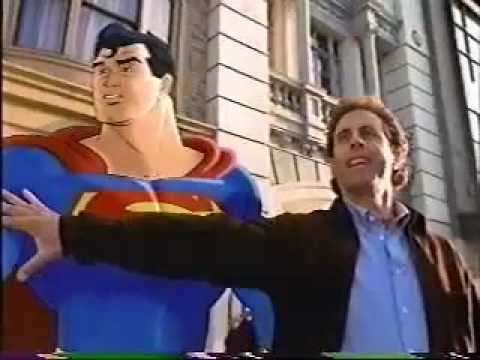 Jerry Seinfeld Superman - American Express commercial