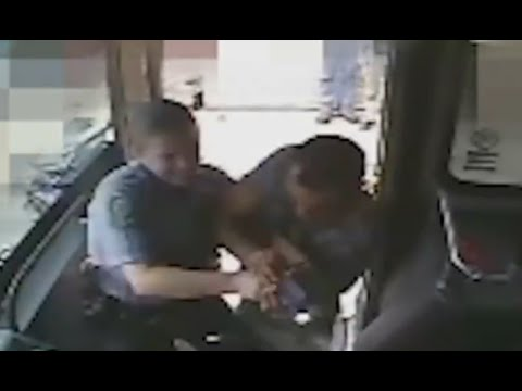 Deadly Bus Shooting Involving Officers Caught on Tape [GRAPHIC] - YouTube