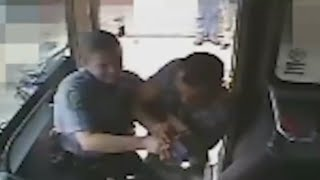 Deadly Bus Shooting Involving Officers Caught on Tape [GRAPHIC]