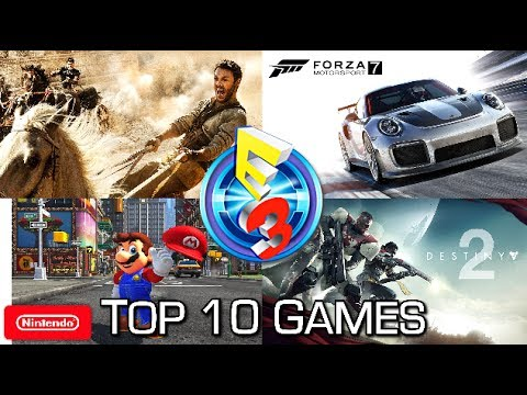 Top 10 Games (that I Played) at E3 2017 (According to Maka)