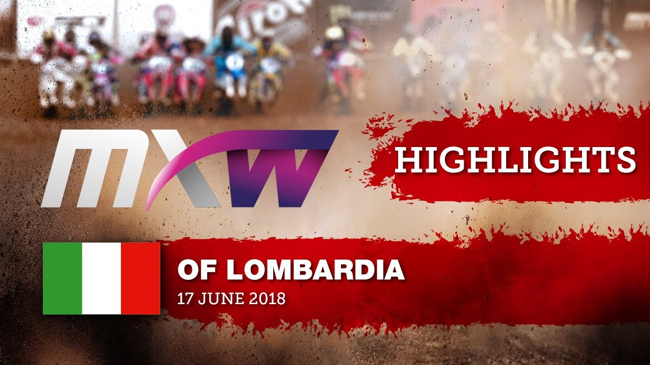 WMX Race 1 Highlights - FIAT Professional MXGP of Lombardia 2018 #motocross
