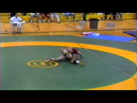 1989 Senior National Championships: 100 kg Steve Marshall vs. Garry Kallos