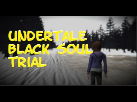 скачать игру Undertale Black Soul Trial img-1