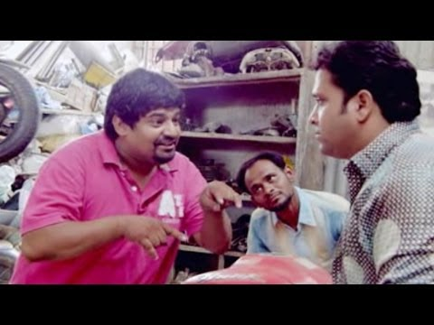 Gullu Dada Thriee Hyderabadi Movie || Akbar Bin Tabar Speak Different Language Comedy Scene