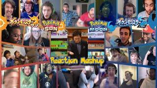 Pokemon Sun and Pokemon Moon Announcement Trailer Reaction Mashup